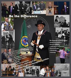 M.W. Jim V. Mendoza. Past Grand Master. Grand Lodge of Washington