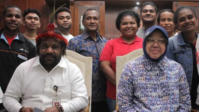 Tepis Dugaan Tindakan Rasisme, Kemensos: Bu Risma Itu Kan Mamanya Rakyat Papua