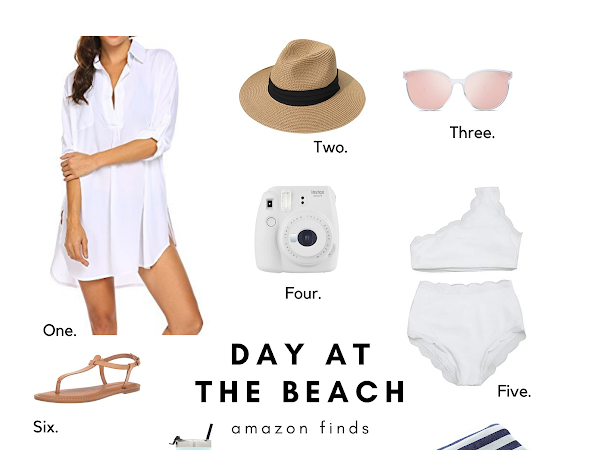WHAT I BRING FOR A DAY TRIP TO THE BEACH