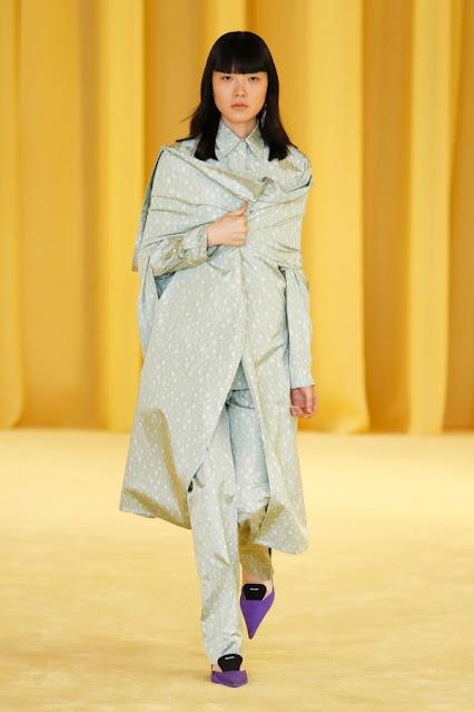 Prada SS21, Fashion Show, Monochrome, trend report, fashion week, nyfw, Nyc, kelly fountain fashion