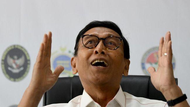 Wiranto Sebut Demo Mahasiswa Tidak Penting Lagi