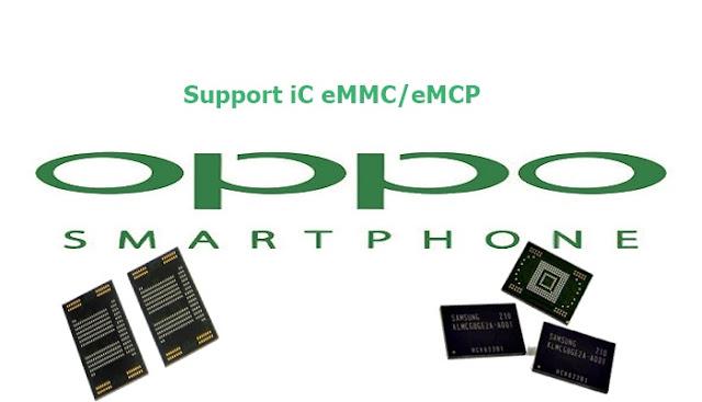 Log Info Konfigurasi eMMC/eMCP Oppo Realme C1 RMX1811