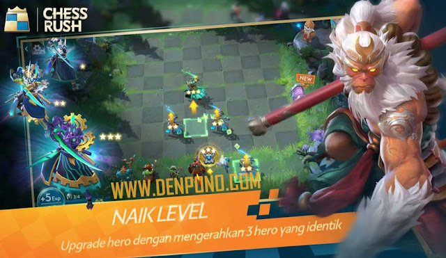 Tencent Rilis Game Auto Battler Mobile Bernama  Resmi! Tencent Rilis Game Auto Battler Mobile Bernama Chess Rush