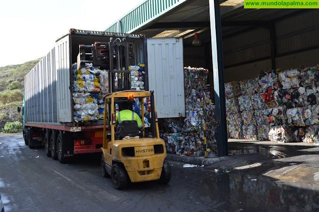 La Palma separó más de 1.400 toneladas de papel y cartón en 2017