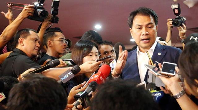 Aziz Syamsuddin Kesandung Kasus Suap Tanjungbalai