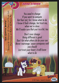 MLP It's Gonna Work Series 4 Trading Card