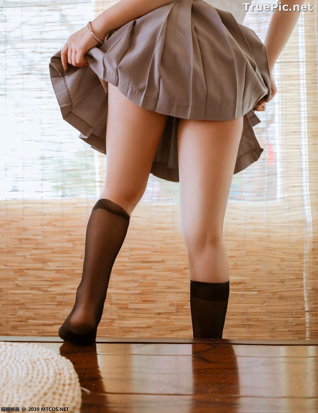Image [MTCos] 喵糖映画 Vol.039 – Chinese Cute Model – Japanese School Uniform - TruePic.net - Picture-2