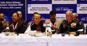 India Africa defence ministers first meeting lucknow