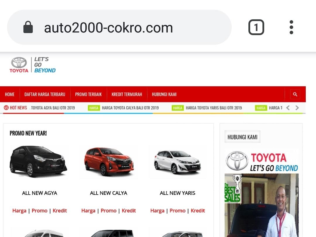 Website Auto2000 Cokro By Bayu-Media Web & Ads