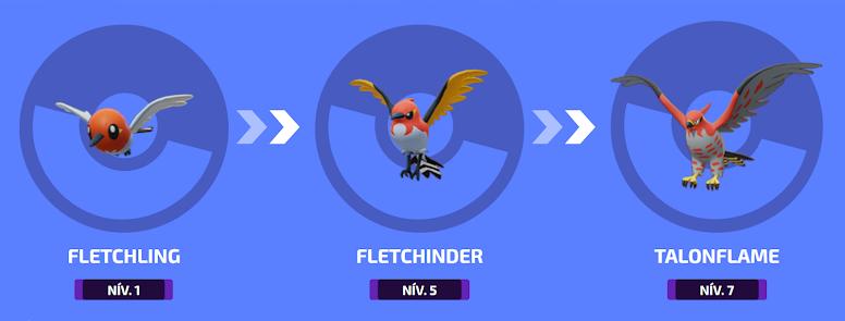 Pokémon Unite - Evolução de Talonflame