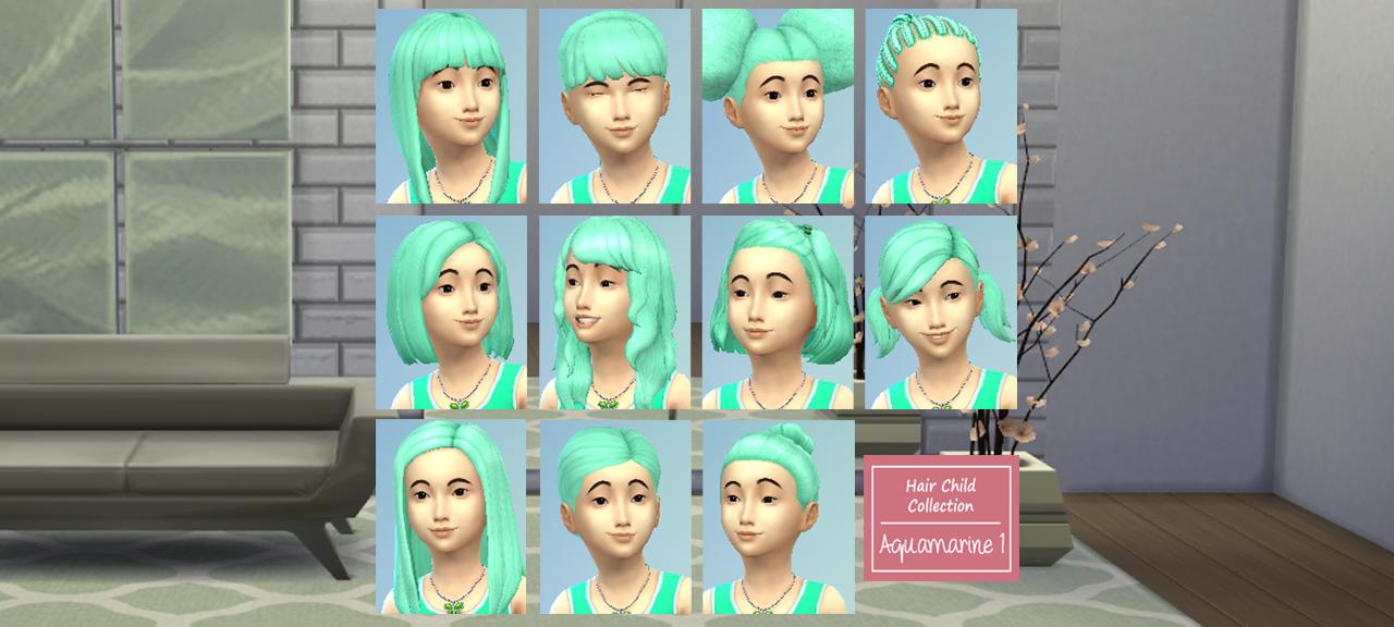 Сharming los sims 4 peinados Colección De Cortes De Pelo Ideas - Contenido personalizado: Peinados de Los Sims 4 ~ Bichion ...