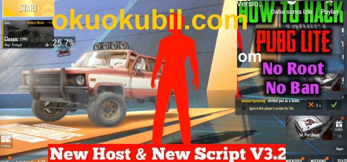 Pubg Mobile Lite 0.14.0 Pubg Lite New Host New Script V3.2 Hepsi Tek Link İndir