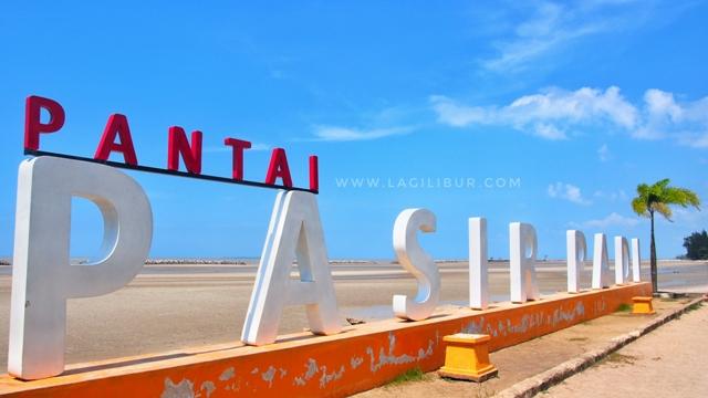 Pantai Pasir Padi Pangkalpinang Bangka