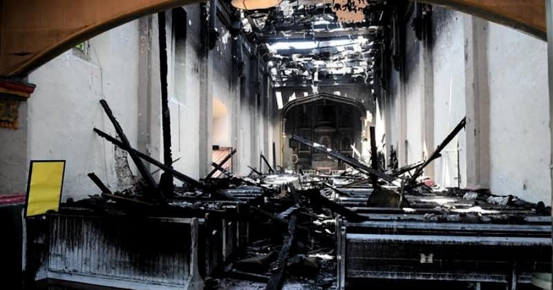 Pria Pelaku Pembakaran Gereja San Gabriel Dihukum Tiga Tahun Penjara