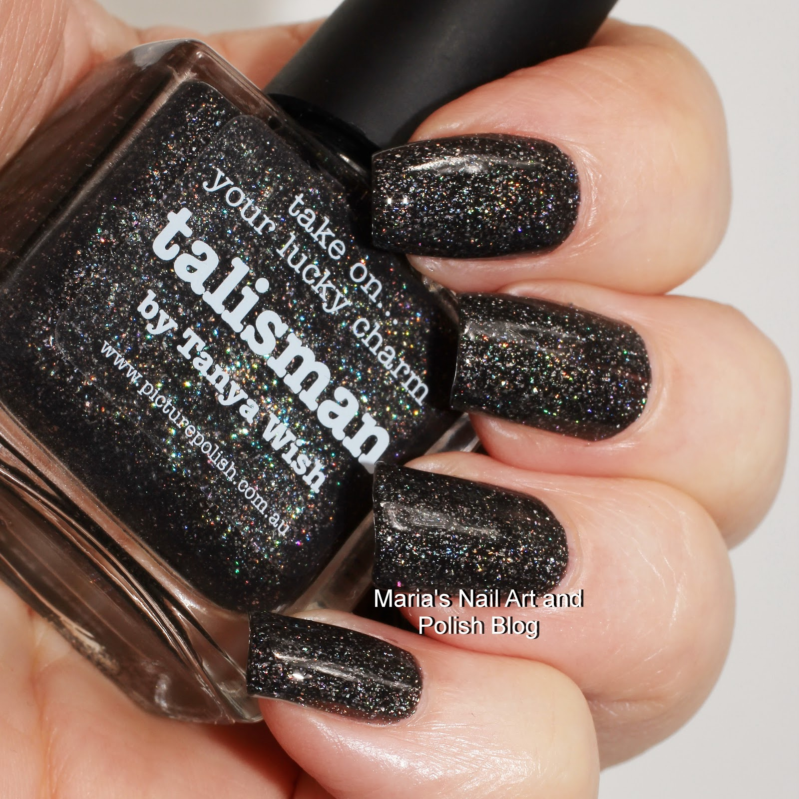 Marias Nail Art and Polish Blog: Picture Polish Talisman swatches