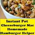 Instant Pot Cheeseburger Mac Homemade Hamburger Helper