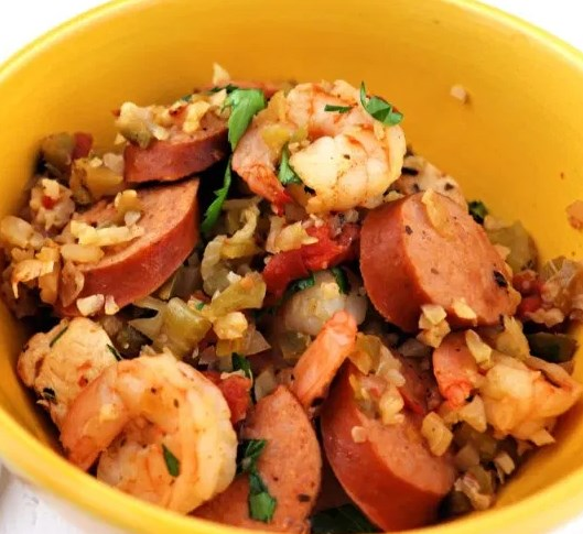 KETO JAMBALAYA #healthy #lowcarb
