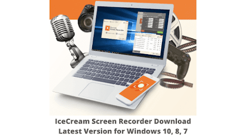 IceCream Screen Recorder Download Latest Version for Windows 10, 8, 7