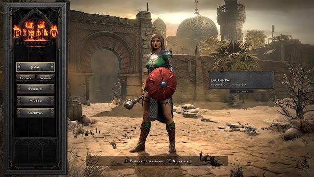 Análisis de Diablo 2: Resurrected para PS4