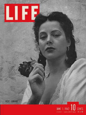 Life magazine with Hedy Lamarr on the cover, 1 June 1942 worldwartwo.filminspector.com