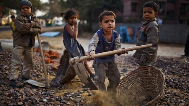 Unicef: 152 millones de niños trabajan en el mundo