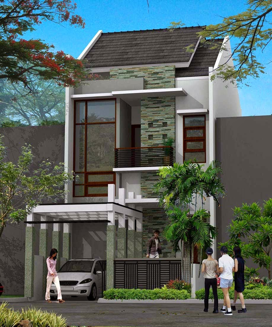 Rumah Minimalis Futuristik