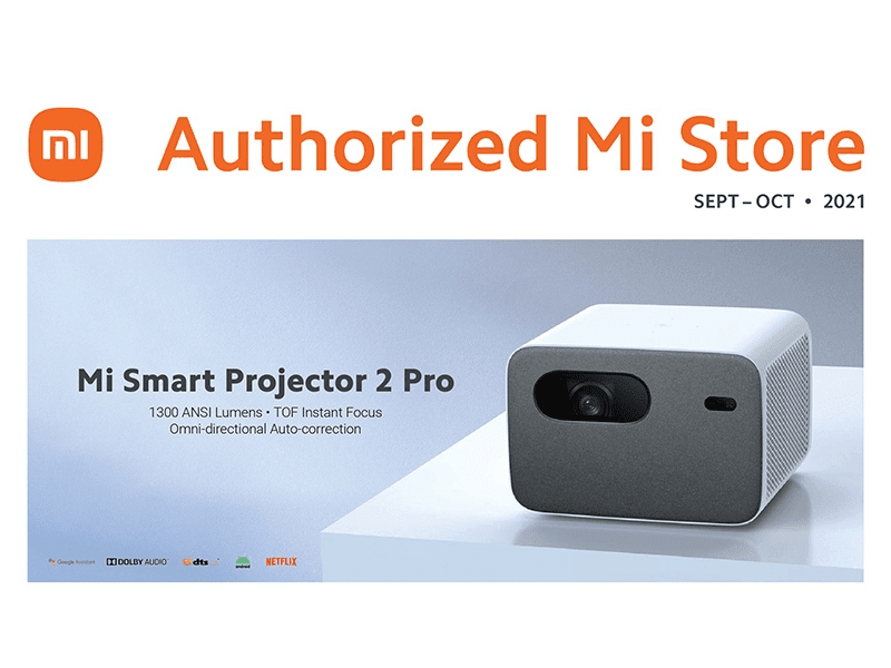 Xiaomi Mi Laser Projector 150″, Mi Smart Projector 2 Pro now in the Philippines!