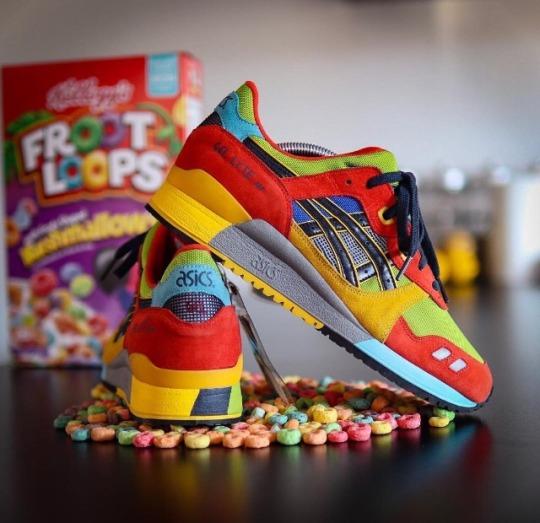 hot sale online c2ba9 b9ebc Le Sneakers ASICS Gel Lyte Froot Loops: le scarpe giapponesi ...