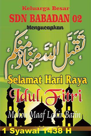 Banner Selamat Idul Fitri 10