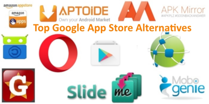 android store alternatives