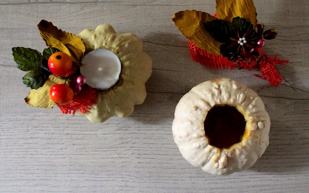decorare-la-tavola-con-zucche-e-candele
