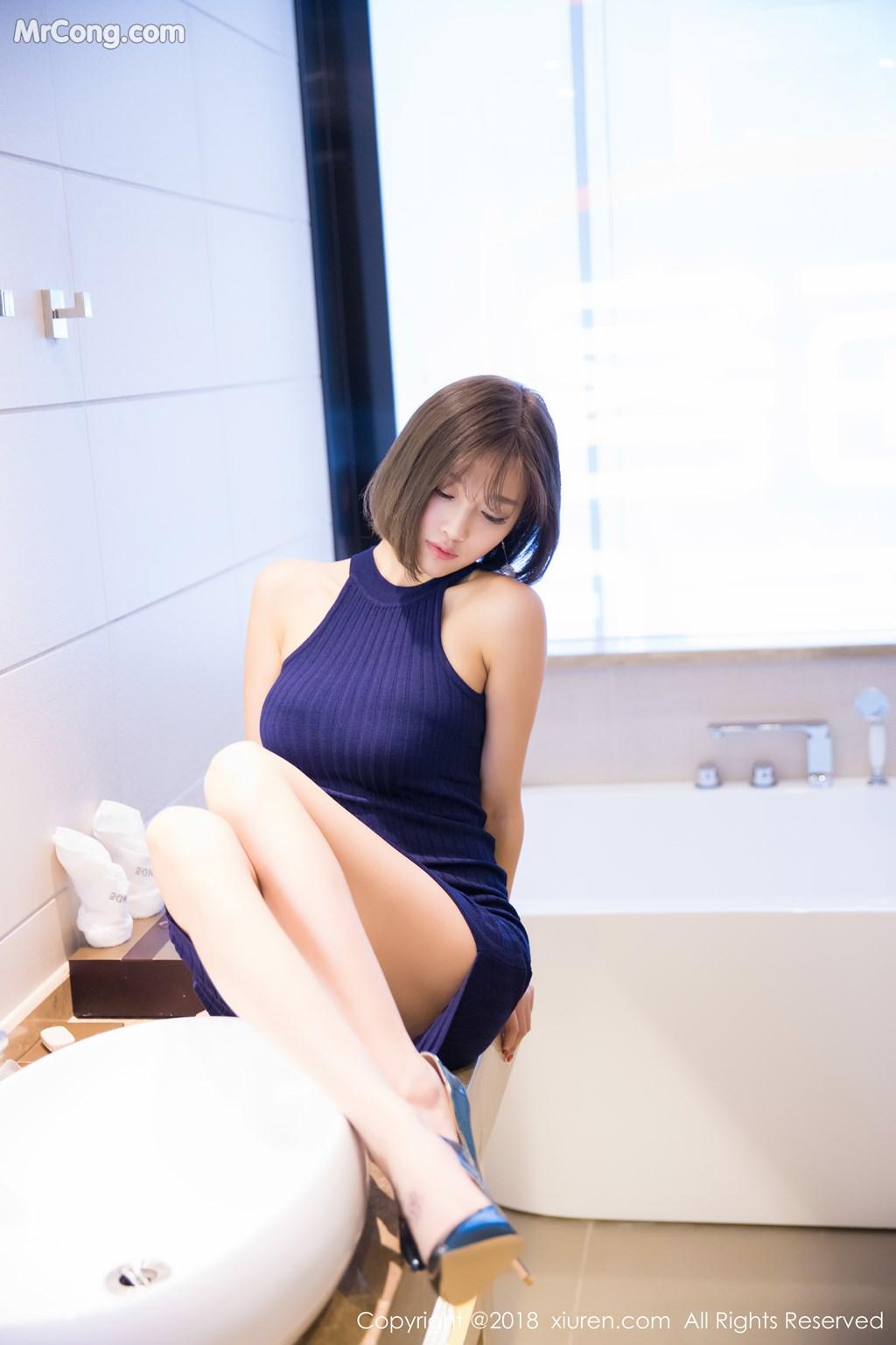 Image XIUREN-No.919-Yang-Chen-Chen-sugar-MrCong.com-019 in post XIUREN No.919: Người mẫu Yang Chen Chen (杨晨晨sugar) (55 ảnh)