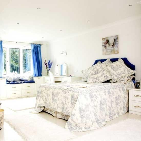 Decoração suave quarto