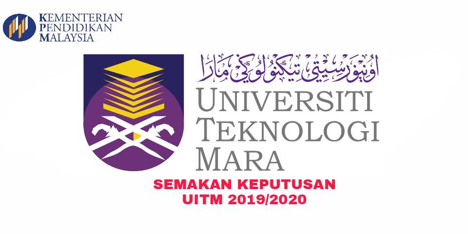 Semakan Keputusan Uitm 2019 2020 Online Pendidikan Malaysia