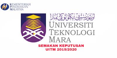 Semakan Keputusan UITM 2019/2020 Online