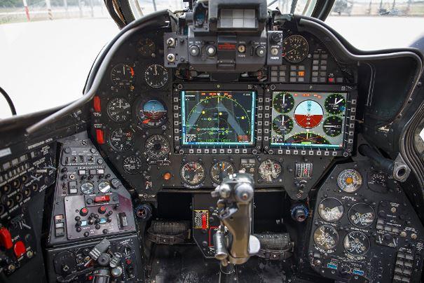 Mil Mi-35M cockpit