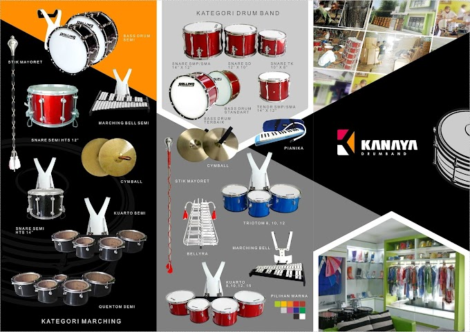 BROSUR ALAT DRUM BAND & MARCHING BAND