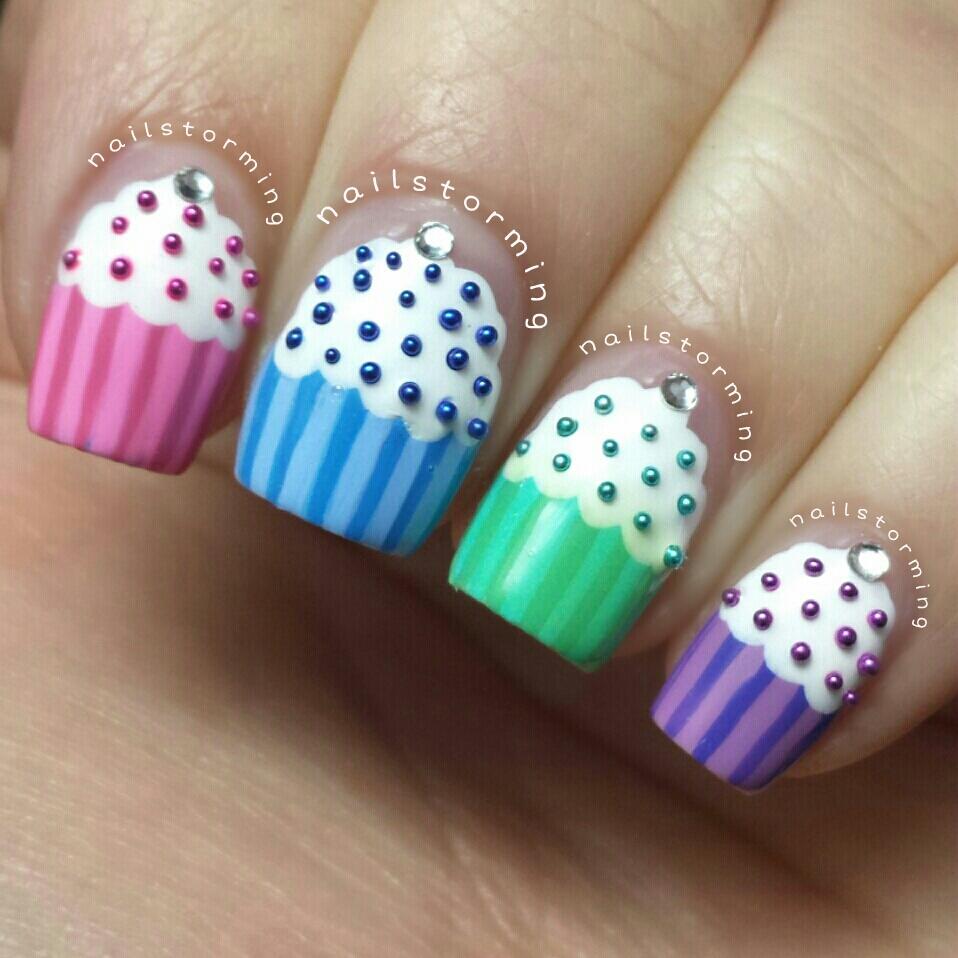 Cupcake Nails: Cupcakes Nails