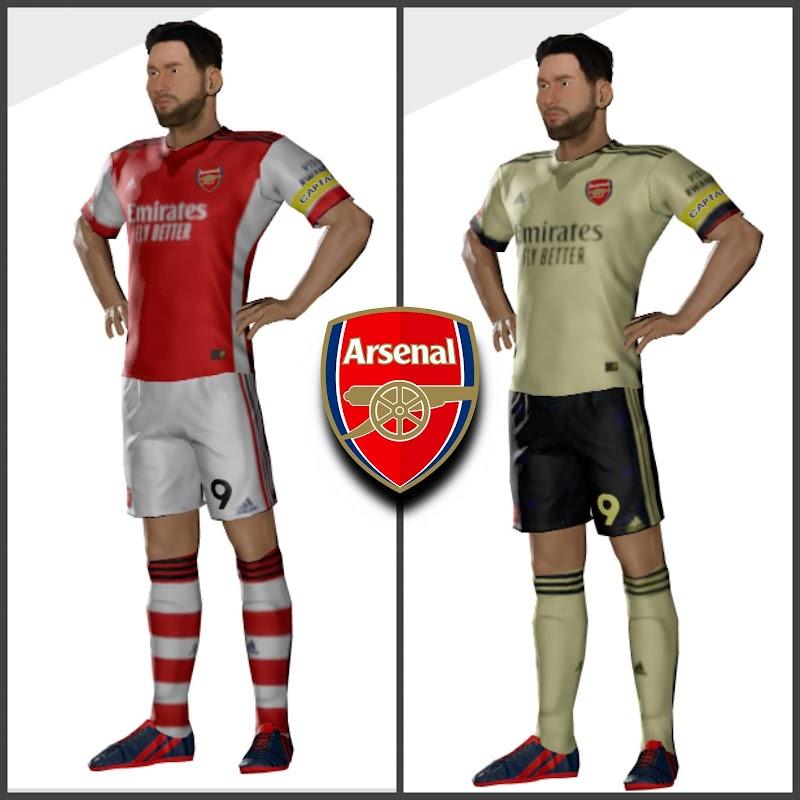 Kit Arsenal 2022 & Logo Dream League Soccer