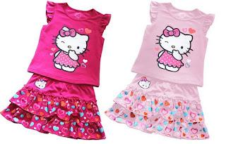 Gambar Baju Hello Kitty Untuk Anak 3