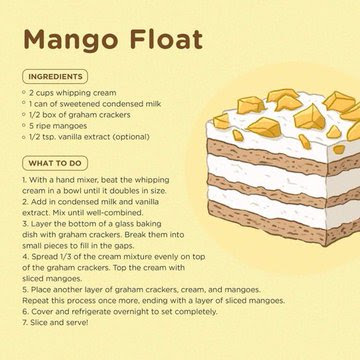 Resepi Mango Float