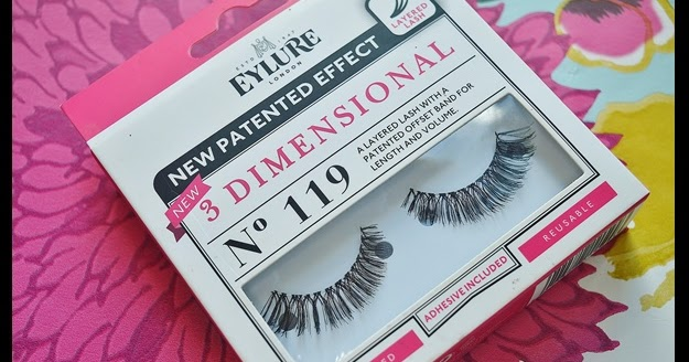 4a0277135c8 Granite City Girl : A whole other dimension | Eylure 3D Lashes No 119
