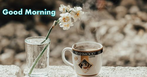 Good morning hot coffee images Hd