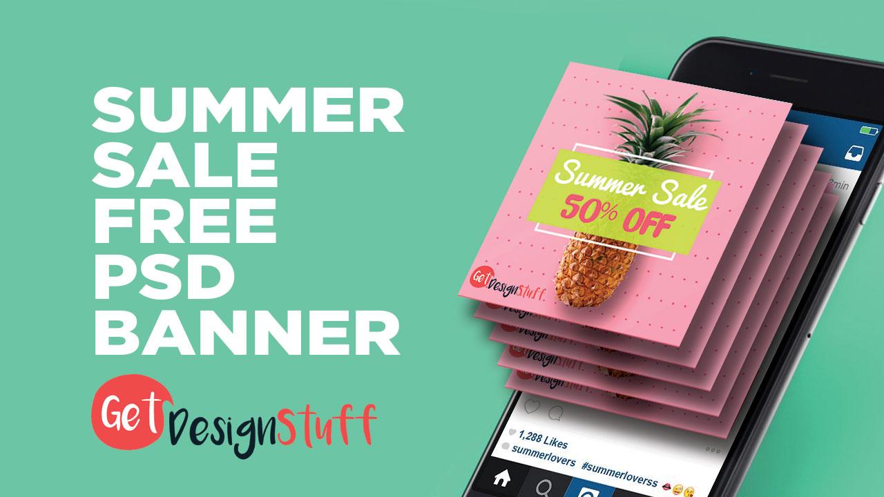 Summer Sale Social Media Banner