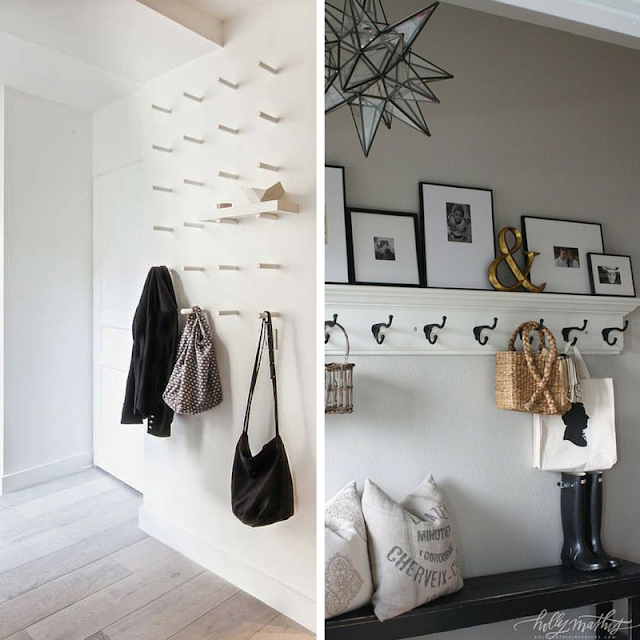 storage ideas entryway • the round button blog