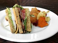 The Best Turkey Club Sandwich in the World