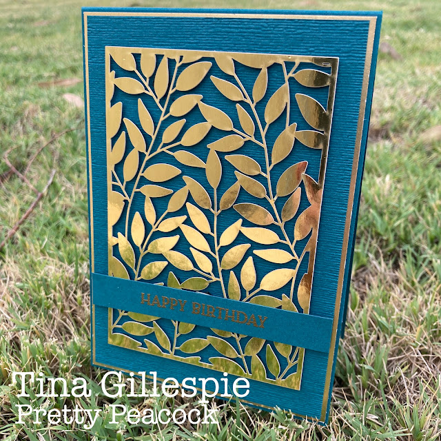 scissorspapercard, Stampin' Up!, Colour Creations, Forever Gold SP, Blossoms In Bloom, Subtle 3DEF, Gold Foil