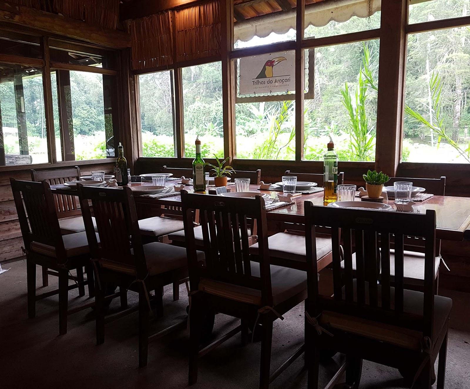 Restaurante Trilhas do Araçari, Mury