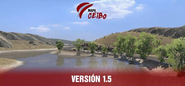 Argentina Map Mod Map CEIBO v1.5 1.39 ETS2