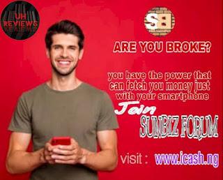 How To make cash on Icash.ng (Sunbiz) financial gain program